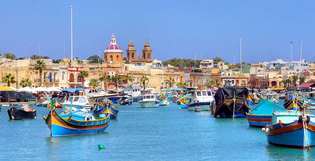 Una isla típicamente Mediterránea