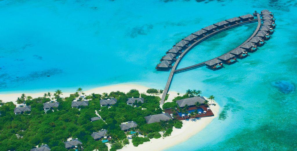 Impresionantes vistas panorámicas del resort