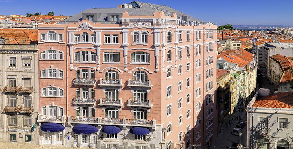 Un hotel emblemático que mantiene la fachada original