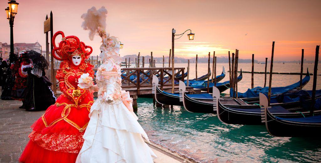 Una oportunidad única de vivir el Carnaval de Venecia