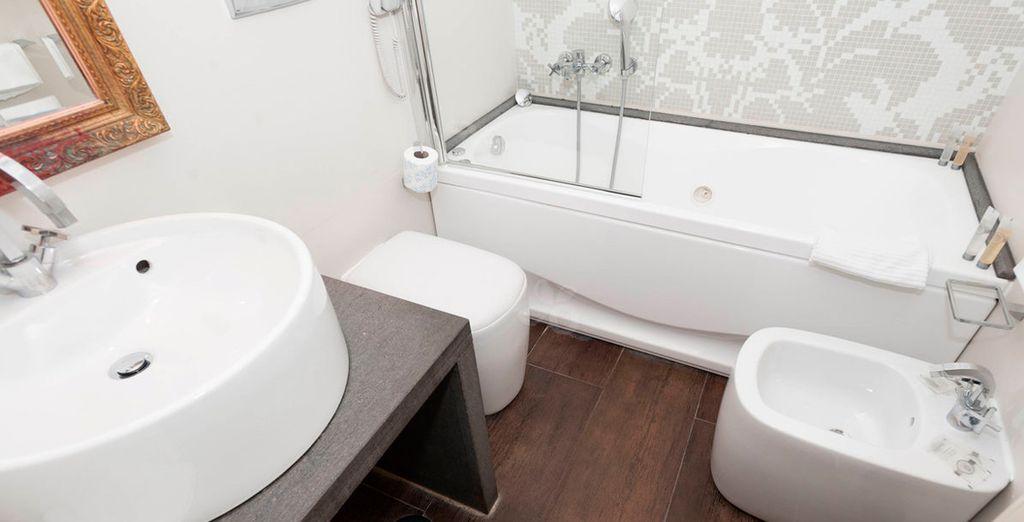 Dispone de baño privado completamente equipado