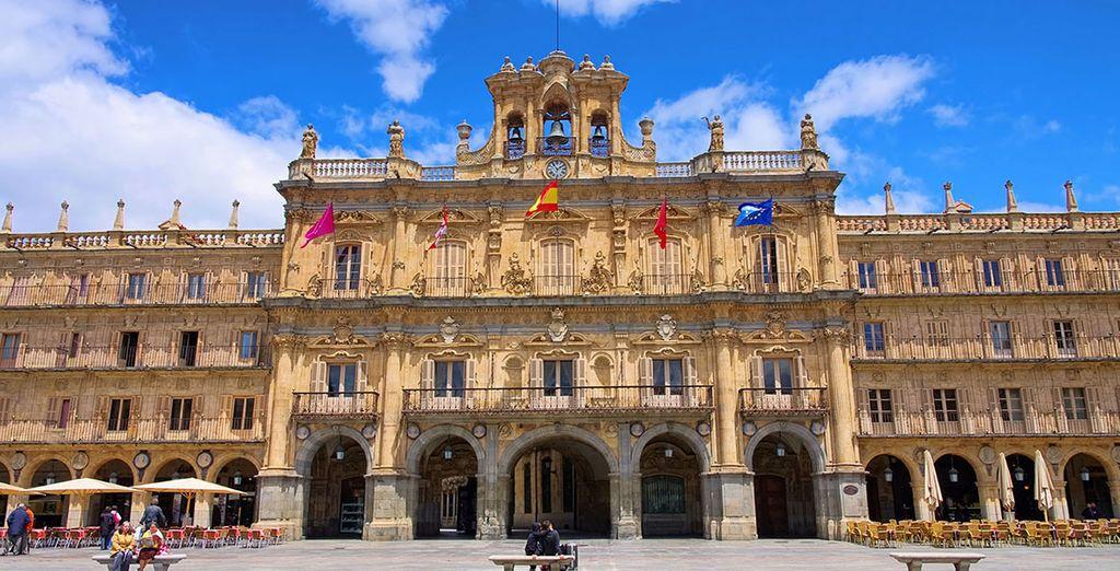Salamanca es patrimonio de cultura, educación e historia
