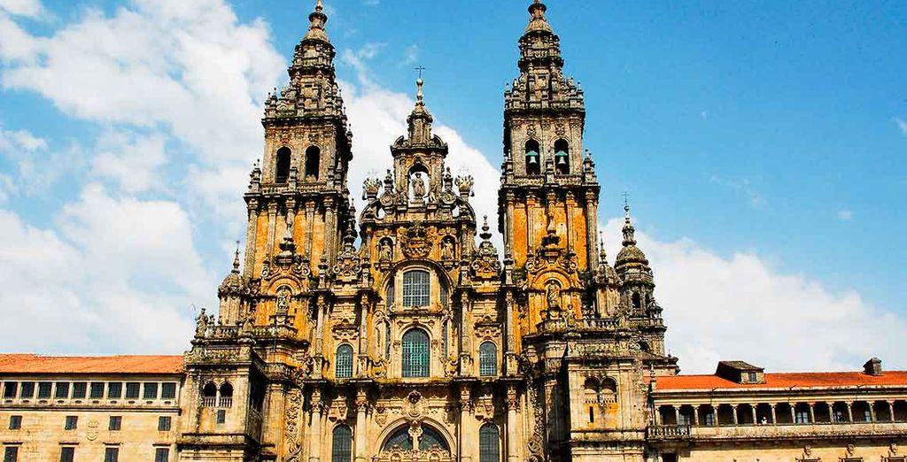 Santiago de Compostela, declarada patrimonio de la Humanidad por La UNESCO