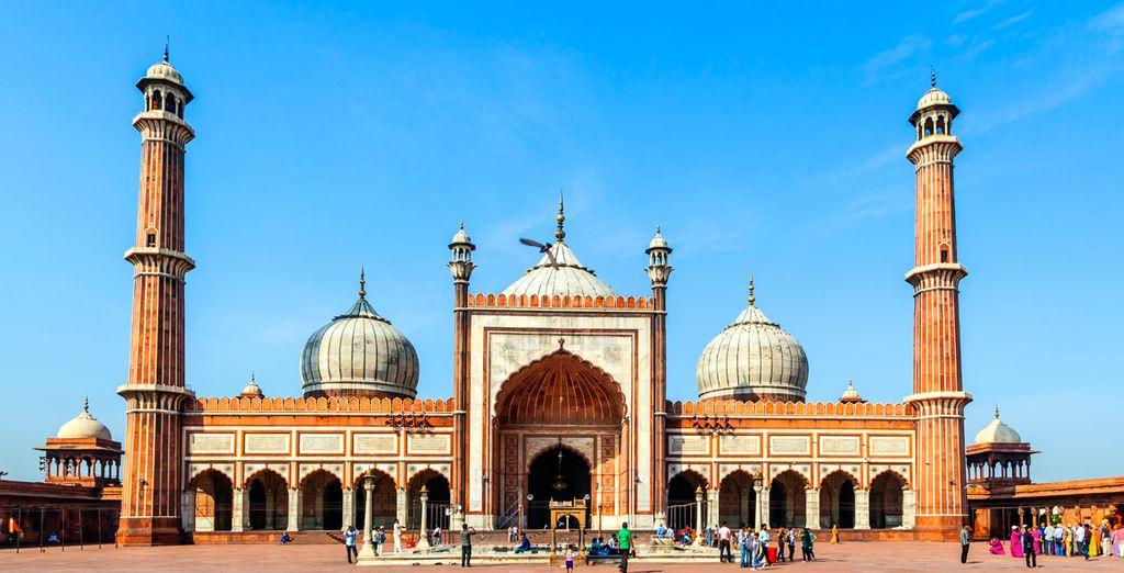 El Jama Masjid, la mezquita más grande de la India