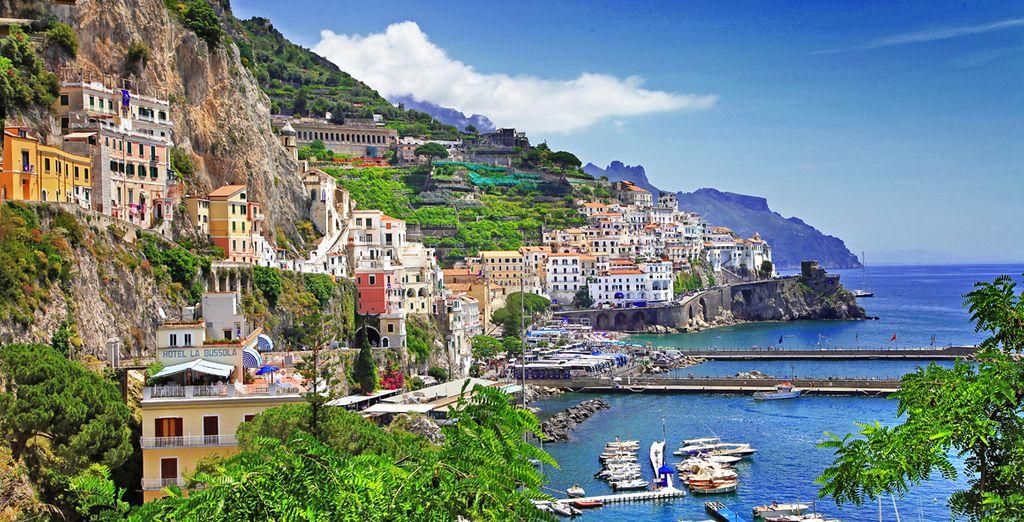 En una excursión opcional podrá visitar Nápoles...