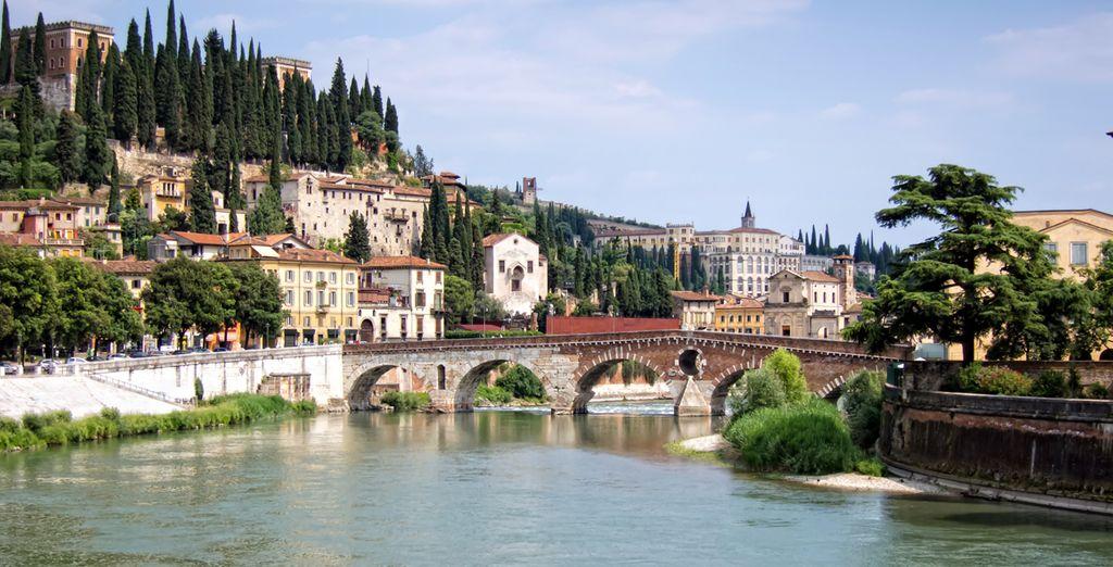 En Verona podrá visitar la casa de Julieta, entre otros puntos de interés