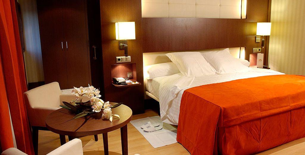 Una estancia confortable en su habitación