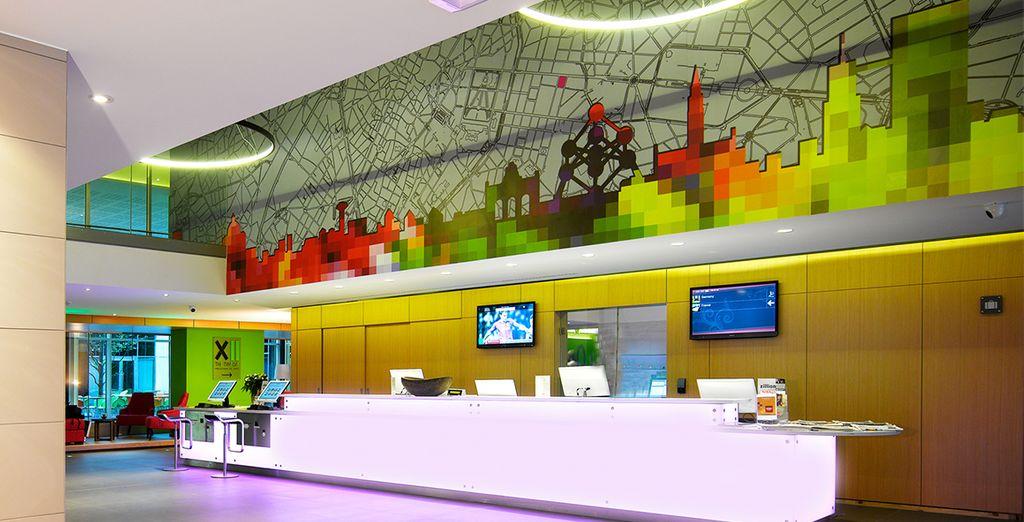 El Thon Hotel EU está situado en el corazón de Bruselas