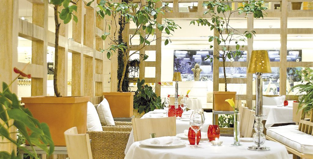 Disfrute de la alta gastronomía de la mano de uno de los mejores restaurantes de la capital