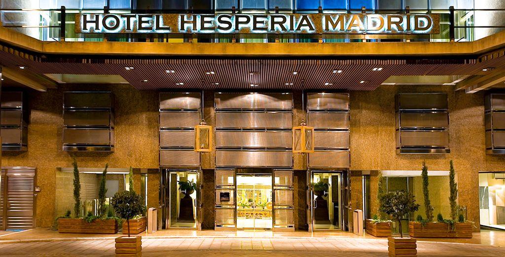 Disfrute de la ubicación privilegiada del hotel