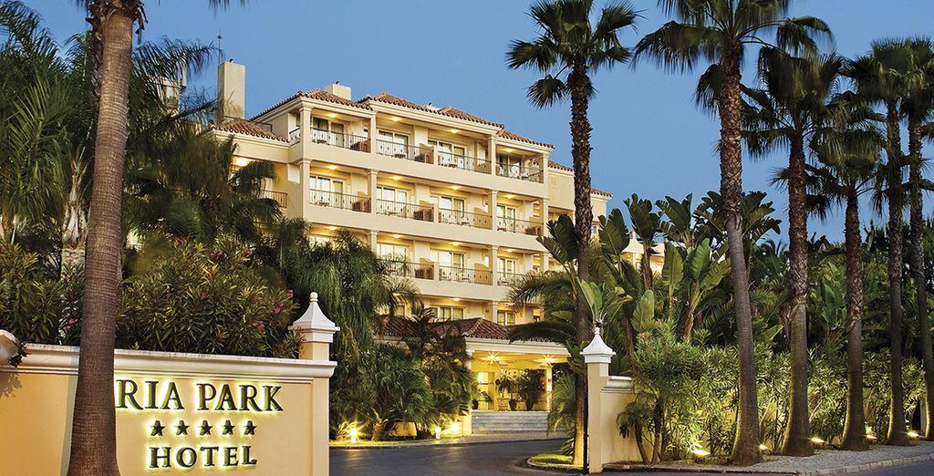 Bienvenido a éste hotel 5*