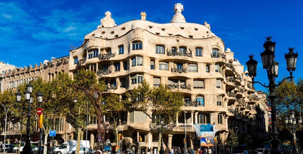 La Pedrera, las obras de Gaudí a un sólo paso