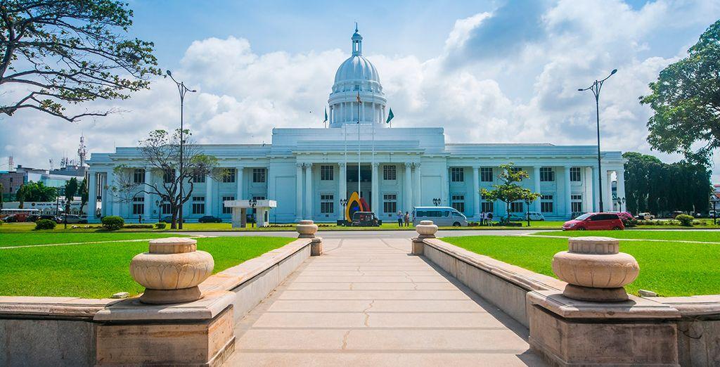 Antes de partir a Maldivas visitará Colombo