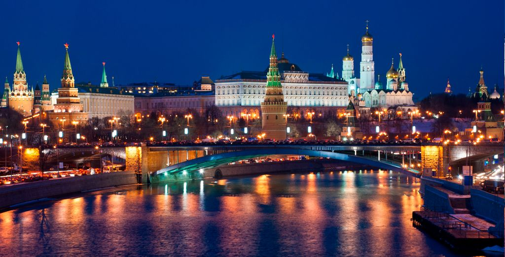 Su primera parada será la capital, Moscú