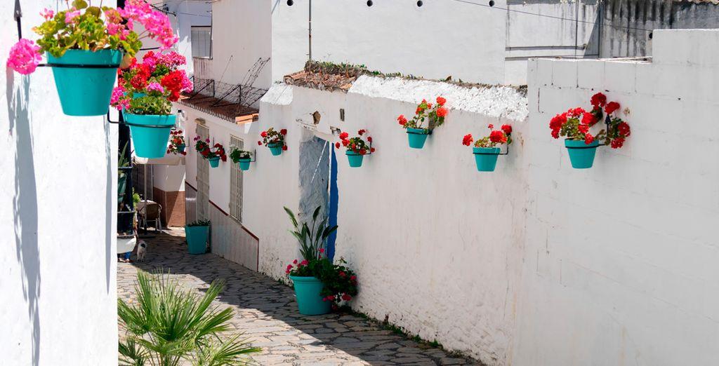 Una ciudad que conserva la arquitectura típica andaluza