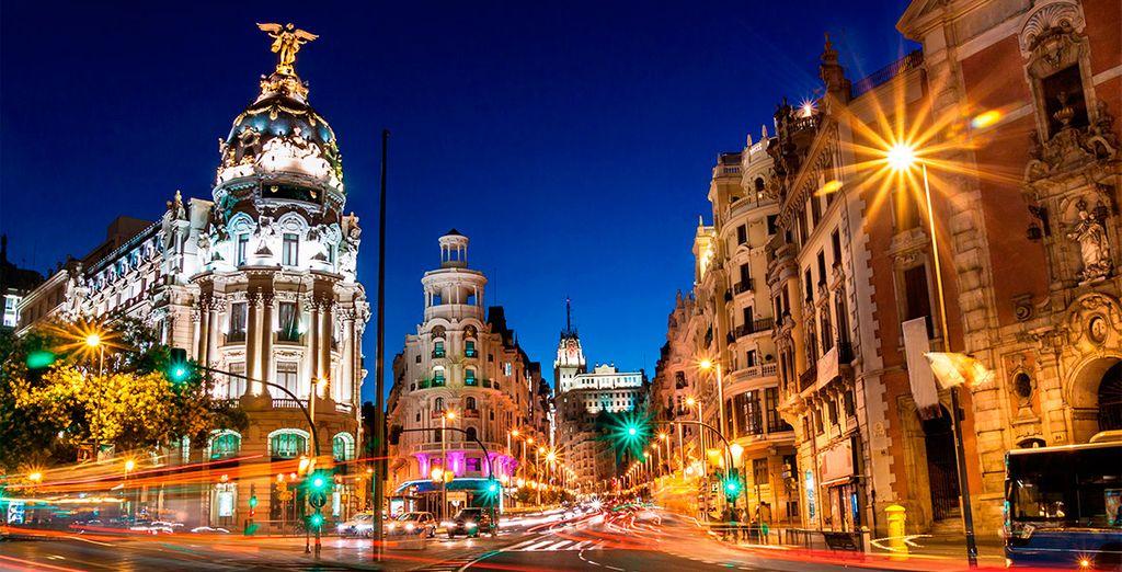 Maravéllese por la majestuosidad de esta genial ciudad
