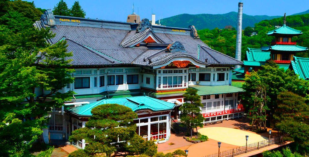 El Hotel Fujiya 4* será donde descansará en Hakone