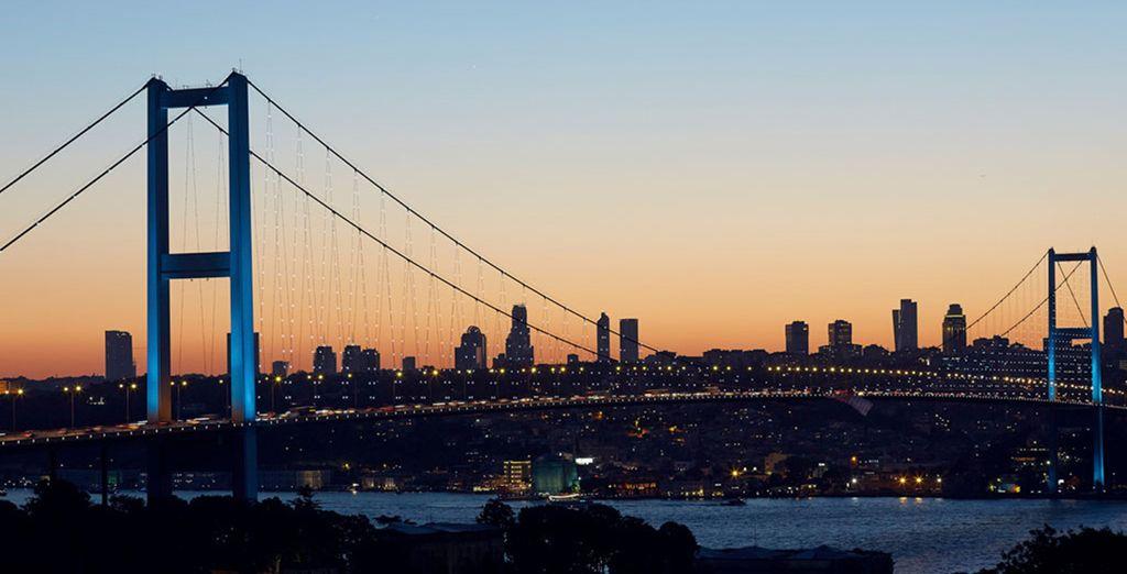 Estambul es el nexo entre Europa y Asia