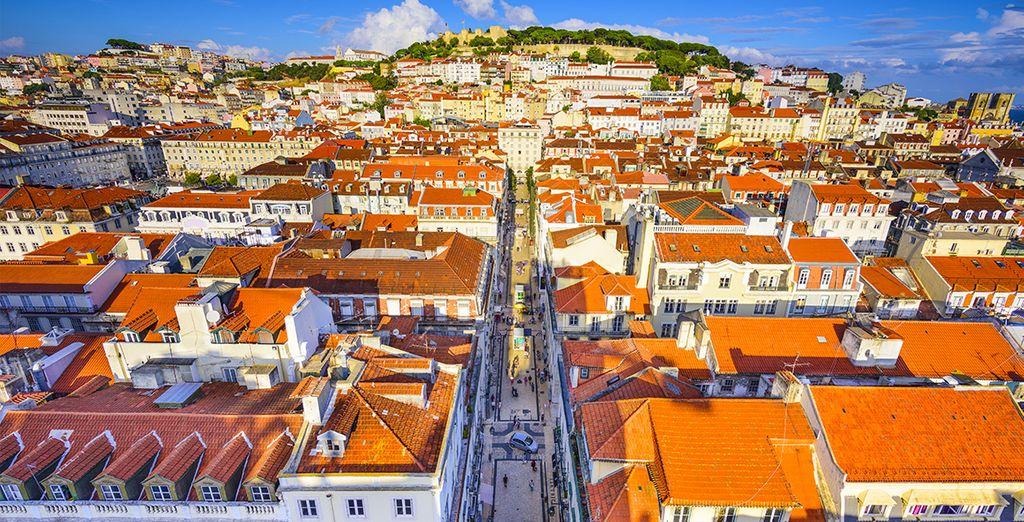 Disfrute de Lisboa desde el cielo