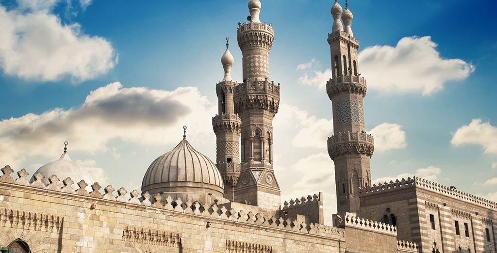 Descubra la capital, El Cairo