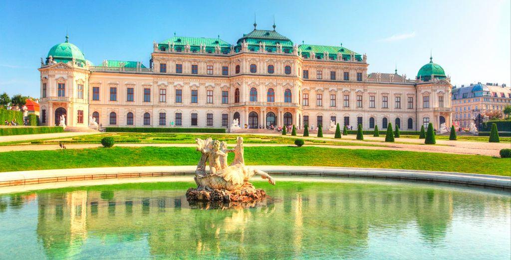 Visite el Palacio de Schönbrunn de Viena