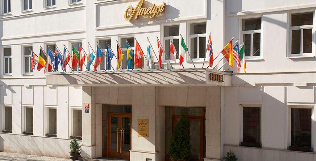 O en el Ametyst Hotel Praha 4*