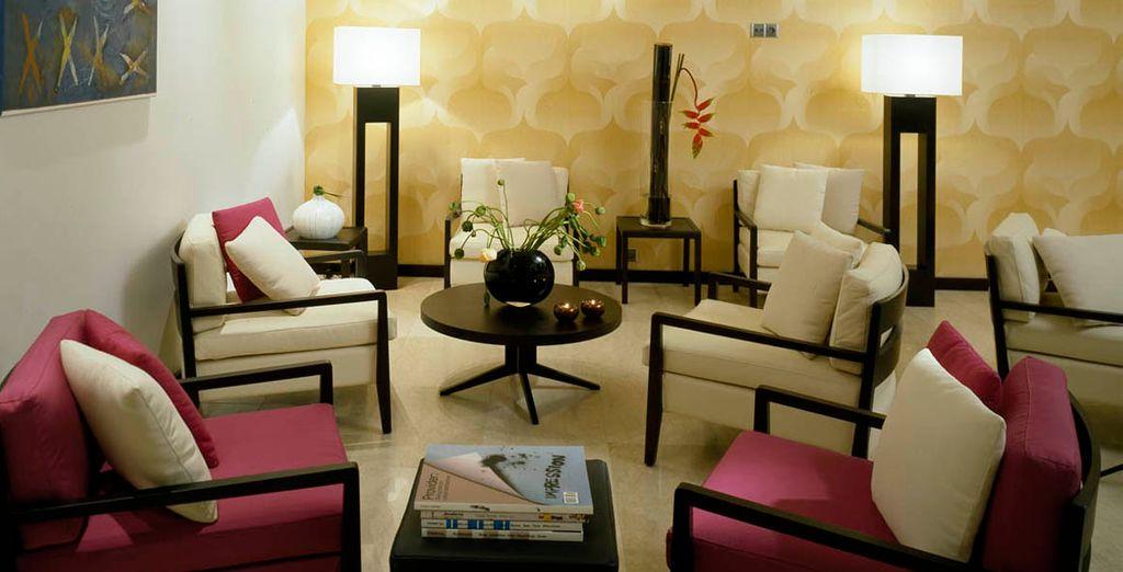 El minimalismo y la elegancia son la clave de este bonito hotel