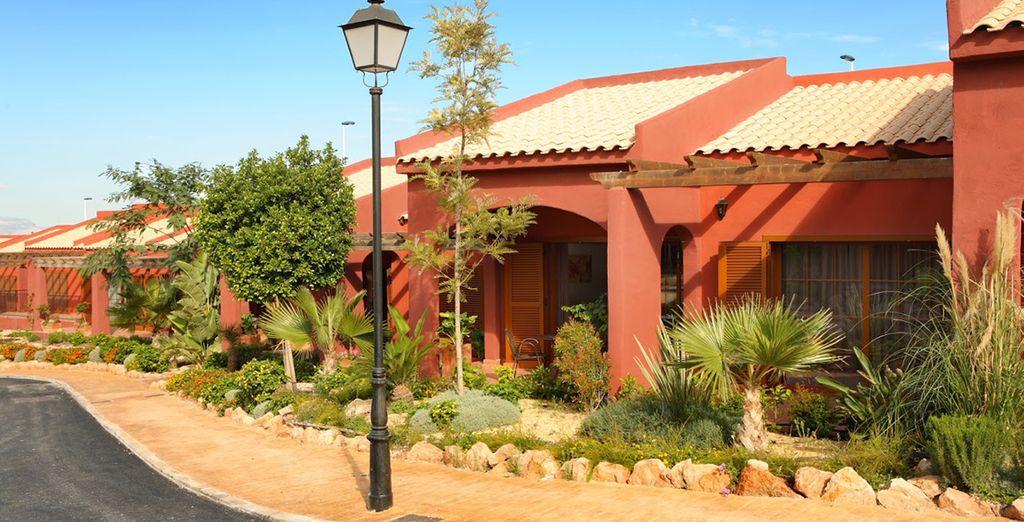 Un resort concebido como si fuera su hogar