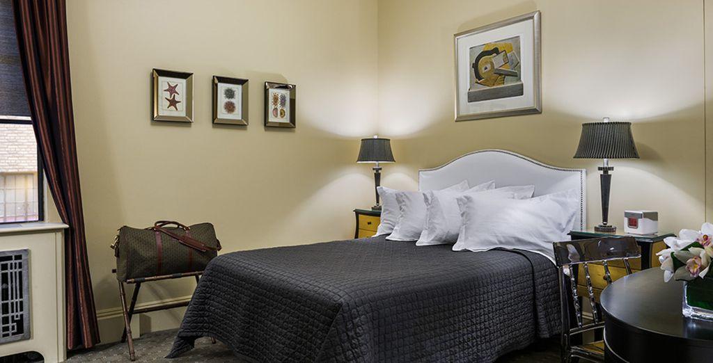 Descanse en su habitación Premium