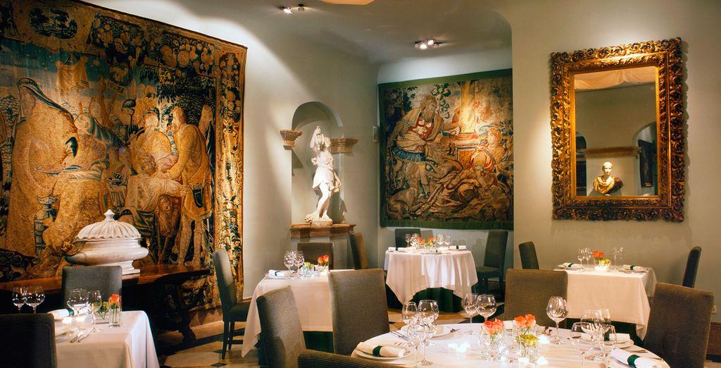 Su restaurante presenta platos que fusionan la cocina moderna y tradicional