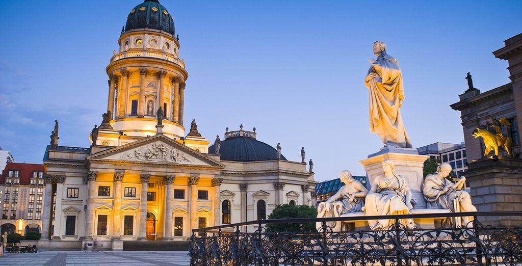 La Plaza de Gendarmenmarkt es una de las visitas imprescindibles en la capital alemana