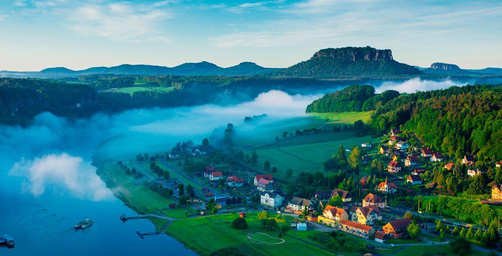 Recorrido por Rathen, una aldea pintoresca a orillas del rio Elba