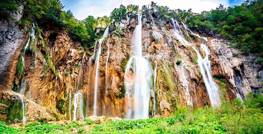 Multitud de lagos, cataratas y cascadas