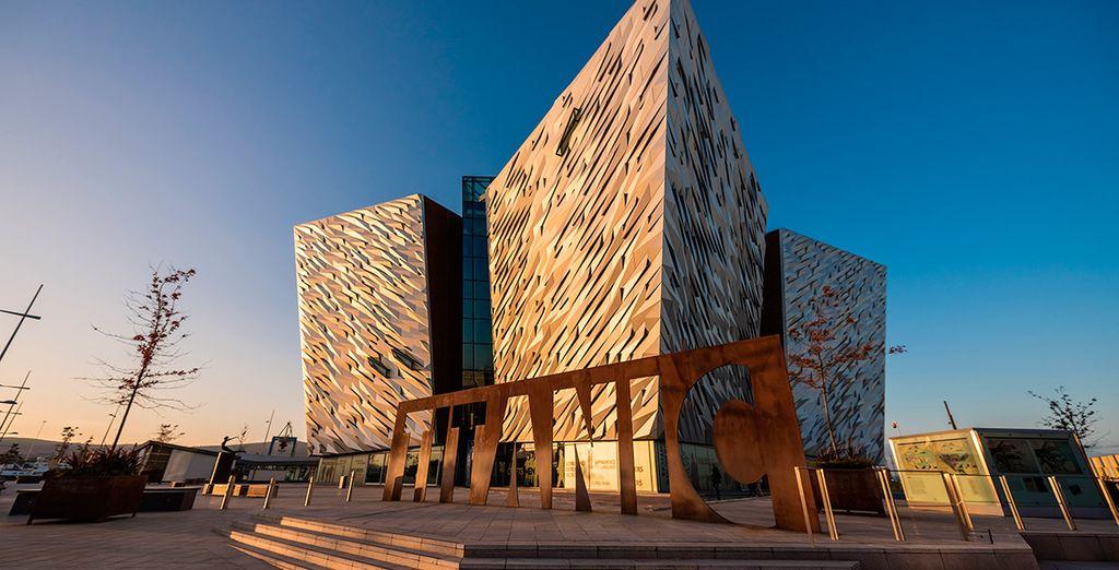 Visitará el Titanic Centre, un homenaje al que fue el transatlántico más grande del mundo