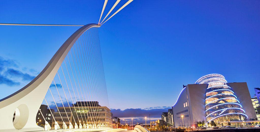 Comenzará el recorrido en la tradicional y moderna Dublín