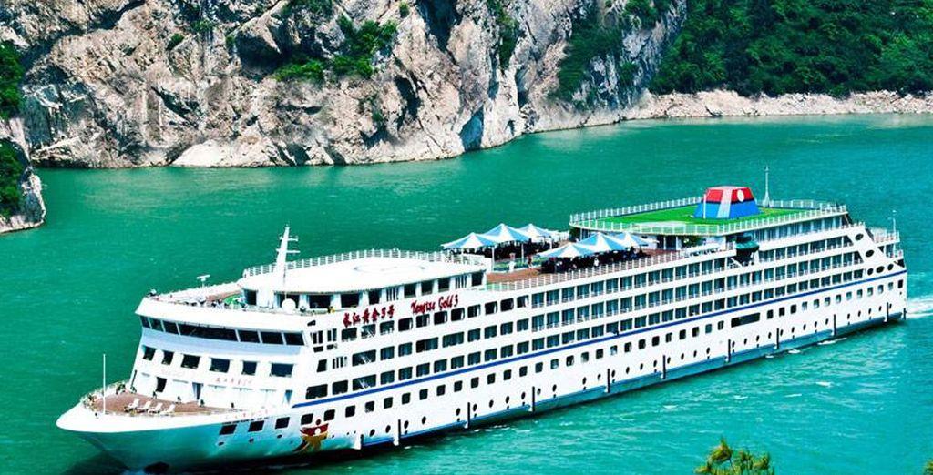 Crucero President Nº8 - Yangtze River Cruises