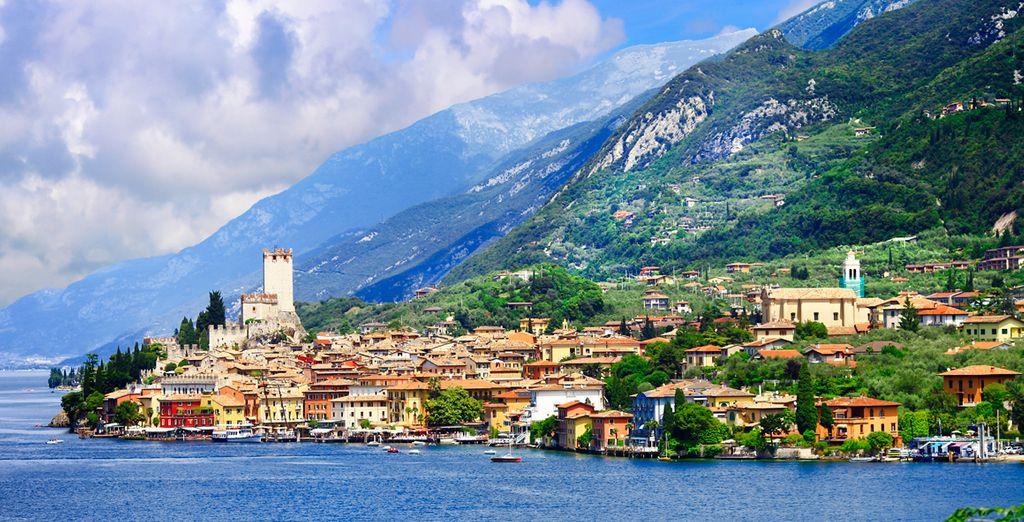 Sirmione posee uno de los castillos mejor conservados de toda Italia