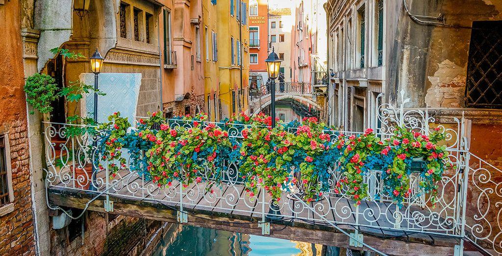 Cada rincón de Venecia destila belleza y encanto
