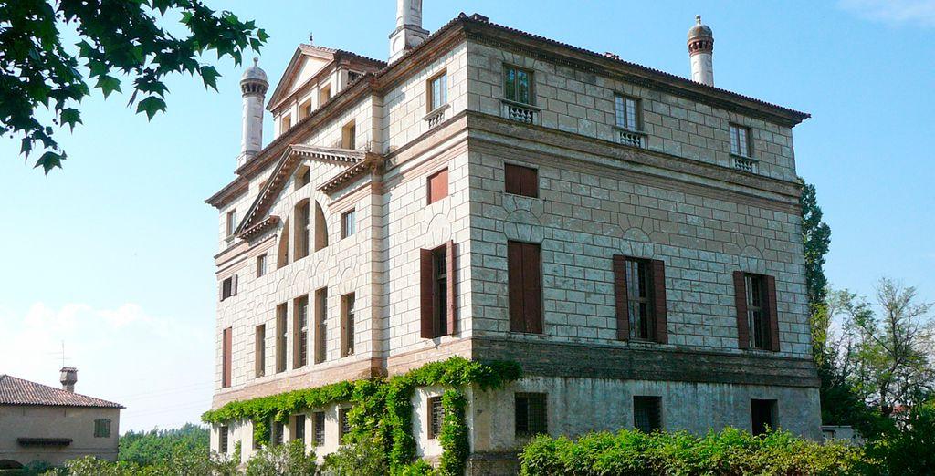 En su tercer día saldrá hacia Malcontenta para la visita de Villa Foscari del arquitecto Andrea Palladio