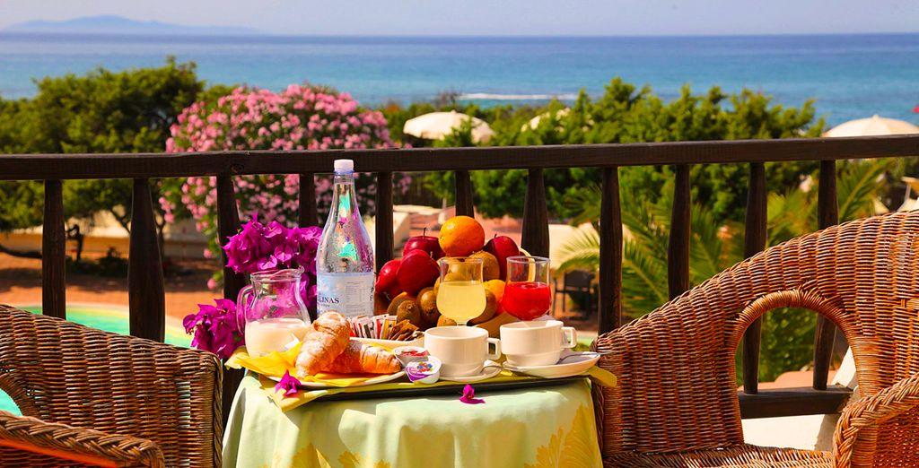 Tendrá un rico desayuno todas las mañanas
