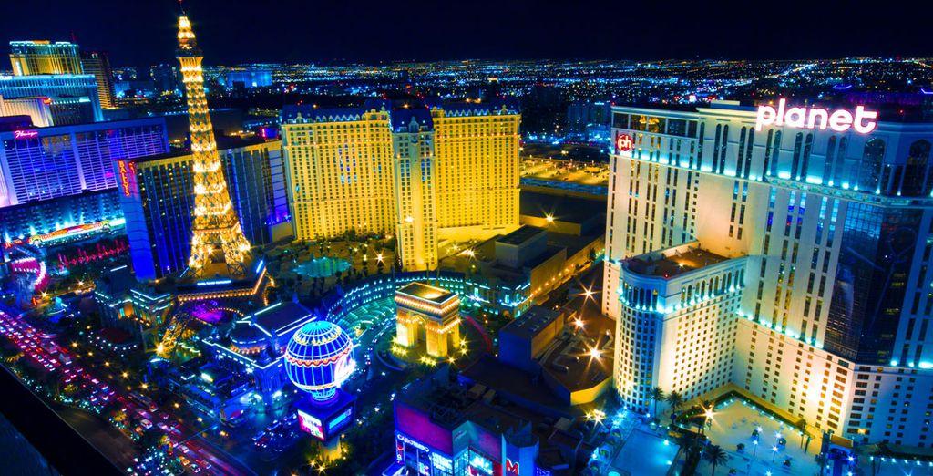 Una ciudad en la que se encuentran los hoteles más grandes del mundo y todos tienen una temática propia
