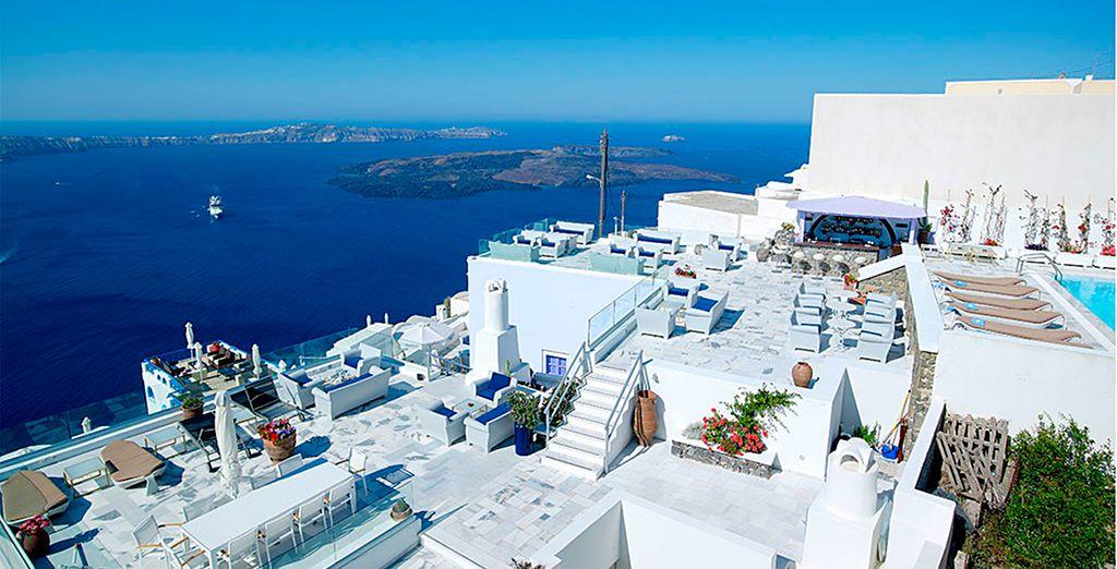 Visite la increíble Santorini