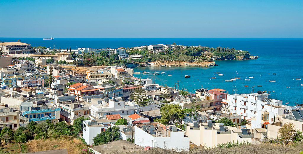 Visite Agia Pelagia, a poca distancia del resort