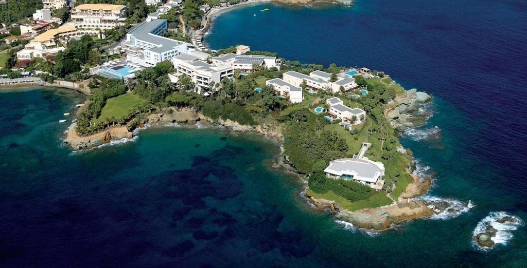 Un resort que goza de una ubicación excepcional