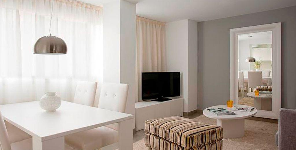 Bienvenido a los Apartamentos Málaga Andes