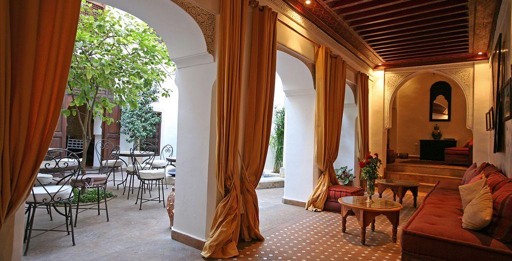 De estilo tradicional, que te garantizará una acogedora estancia