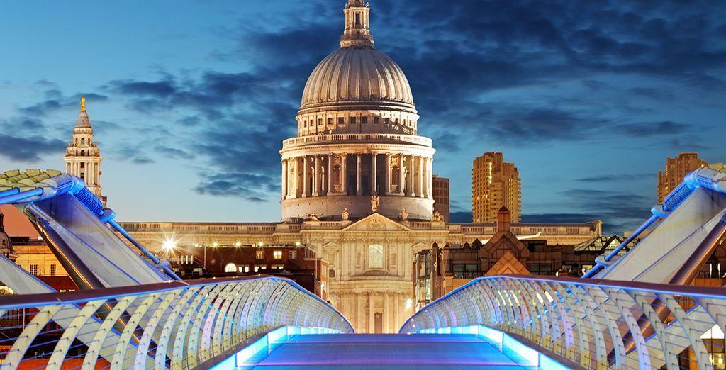 Conoce el ambiente de Londres por la noche