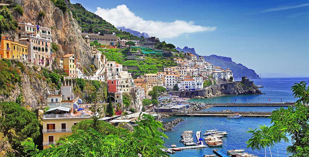 Los rincones más bellos de Roma, Nápoles, Sorrento, Salerno...