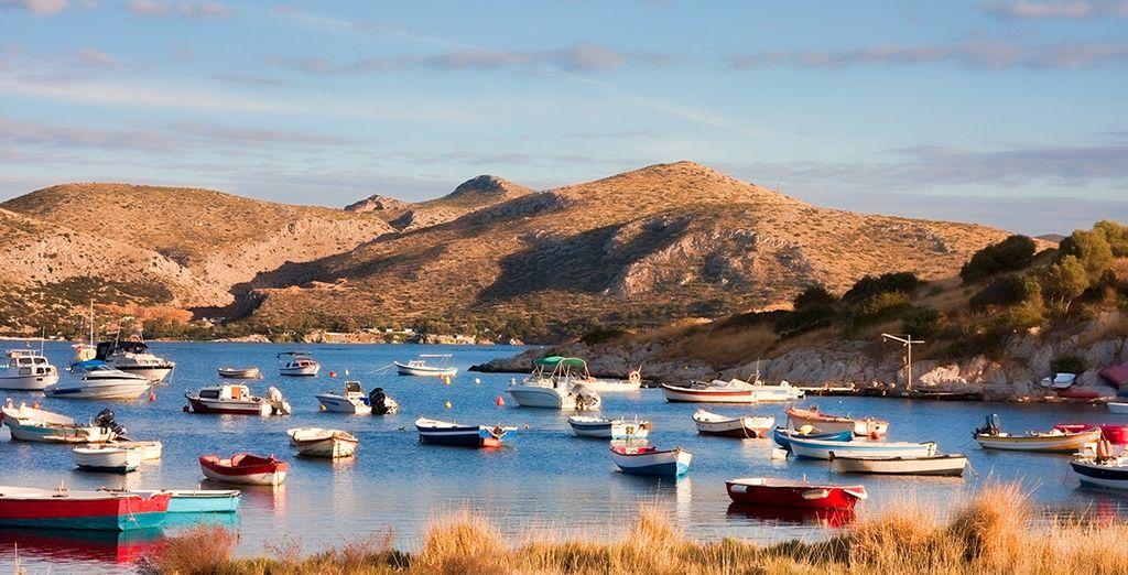 Ven a conocer la costa griega