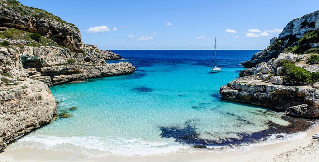Playas de agua cristalina que te fascinarán